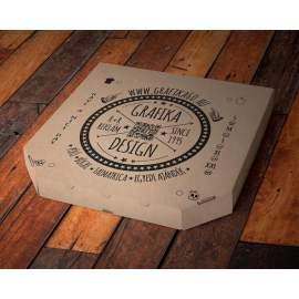 Fekete pizza póló pároknak