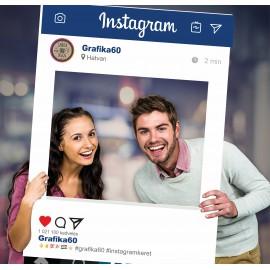 Instagram keret