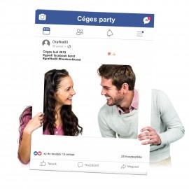 Facebook keret