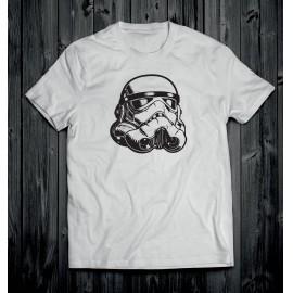 Star Wars 1 férfi póló fehér