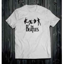 The Beatles 2 férfi póló fehér