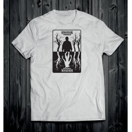 Stranger Things 1 férfi póló fehér