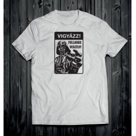 Darth Vader 3 férfi póló fehér