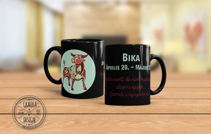 Horoszkópos bögre Bika 02