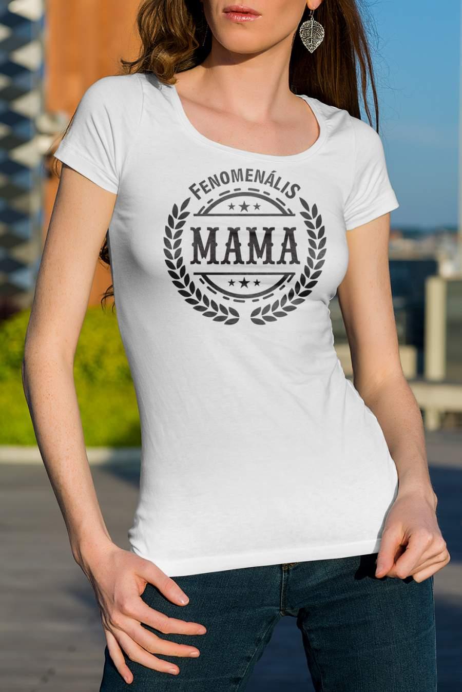Női póló fehér anya 14