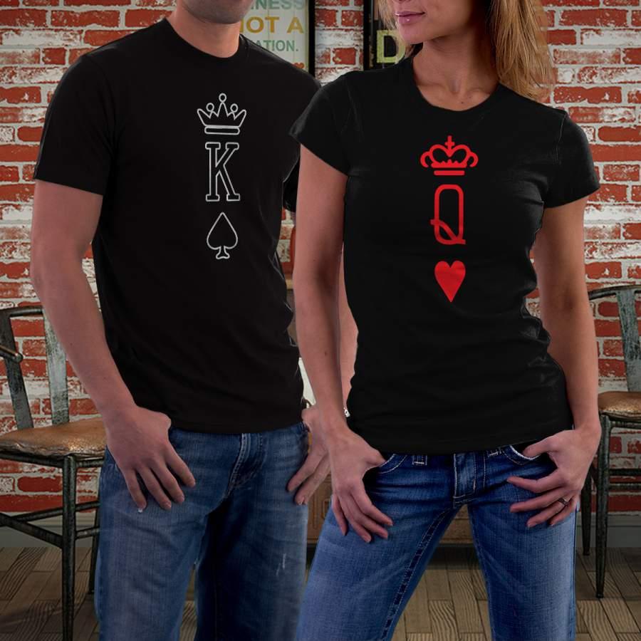 Fekete kártya 01 póló pároknak