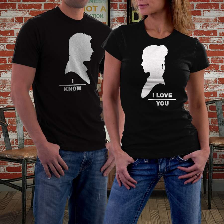 Fekete Star Wars 02 póló pároknak