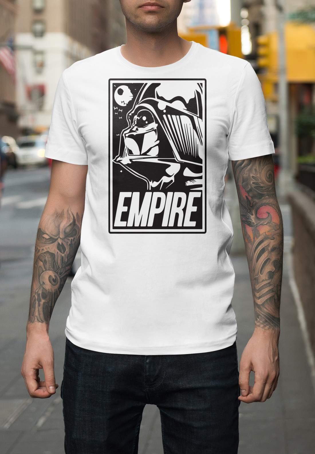 Darth Vader 01 férfi póló fehér