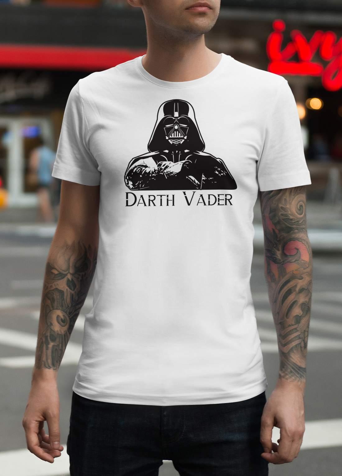 Darth Vader 2 férfi póló fehér