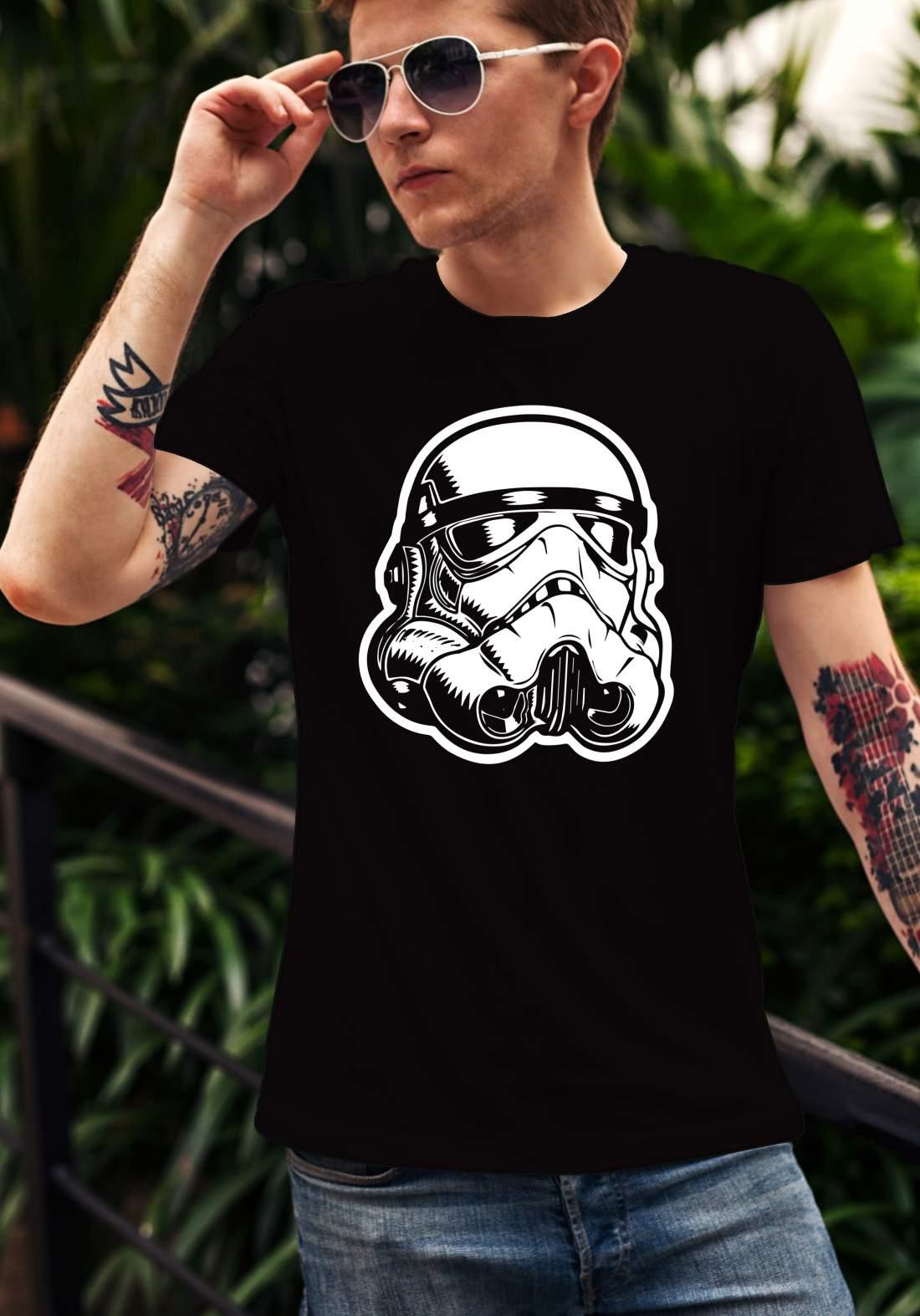 Star Wars 1 férfi póló fekete