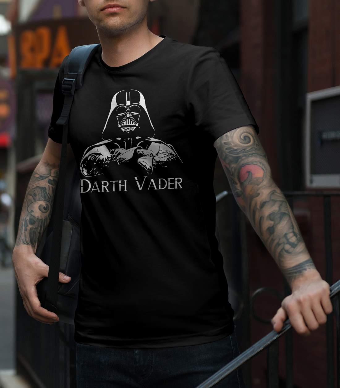 Darth Vader 2 férfi póló fekete