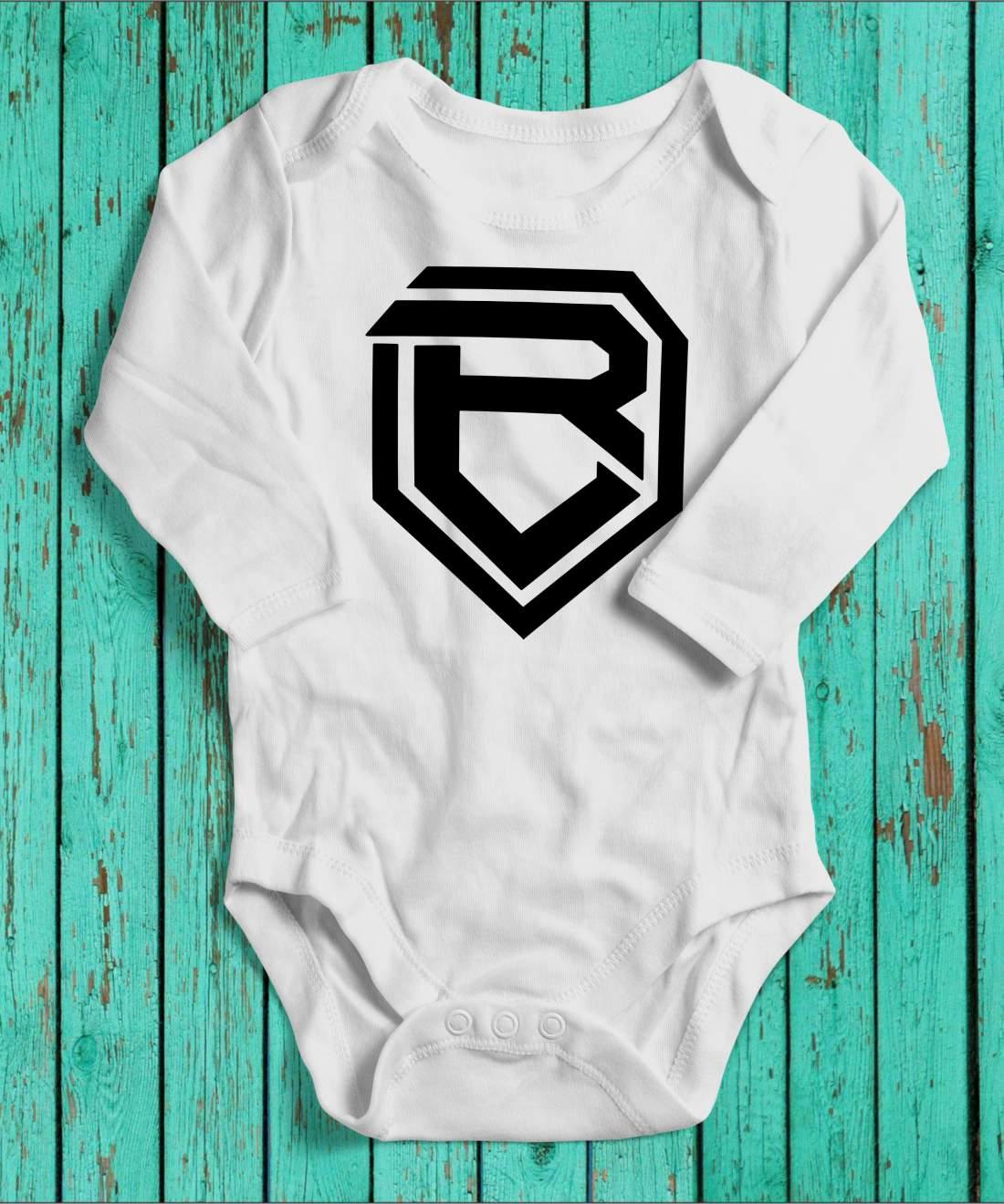 Botondroll baby body fehér